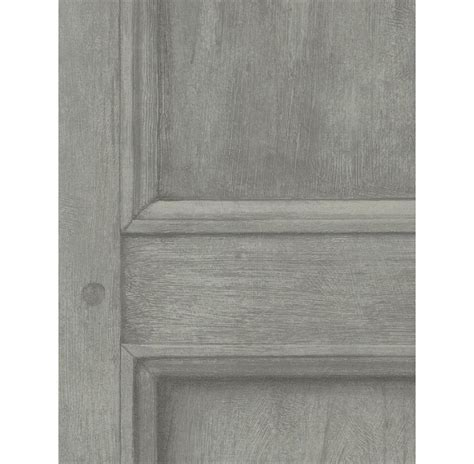 grey wallpaper panel traditional aged wood panel wallpaper grey kathy kuo home