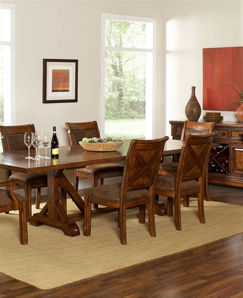 Dining Room Furniture Collection Mandara Dining Room Furniture Collection From Macy S The House