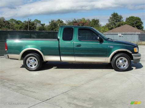 2000 Ford F150 by Green Metallic 2000 Ford F150 Lariat Extended Cab