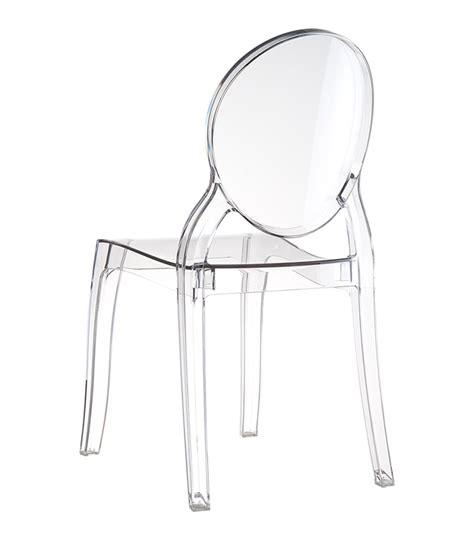Chaise Elizabeth Transparente by Chaises Transparentes Elizabeth