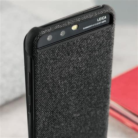 official huawei p10 plus smart view flip case dark grey