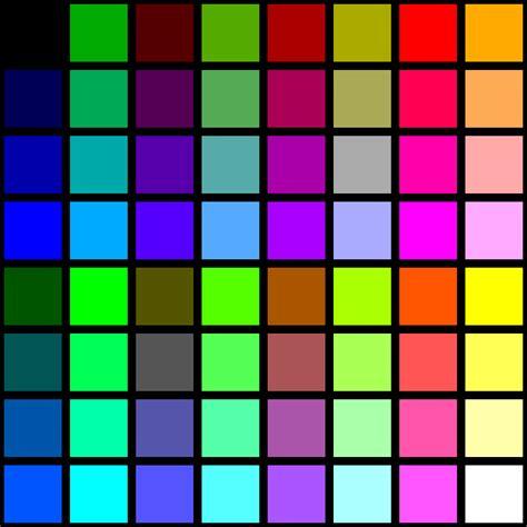 file blood color palette svg wikimedia commons file 6 bit rgb uniform palette with black borders svg