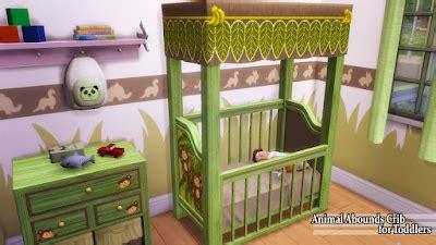animal abounds crib + high chair | enure sims