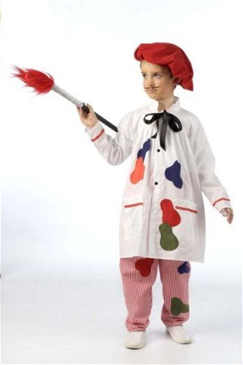 trajes de carnaval de fantasia para ni 241 as disfraz de pintor 2 3 a 5 a 241 os disfraces pinterest