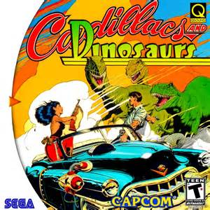 Cadillacs And Dinasour Cadillacs And Dinosaurs Custom Hq Cover Sega