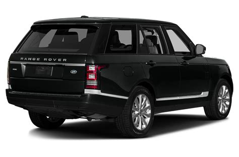 land rover suv price new 2017 land rover range rover price photos reviews