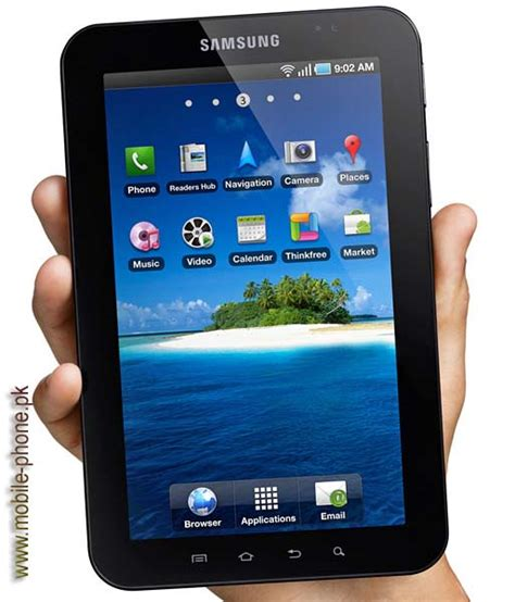 Samsung Galaxy Tab P 1000 samsung p1000 galaxy tab mobile pictures mobile phone pk