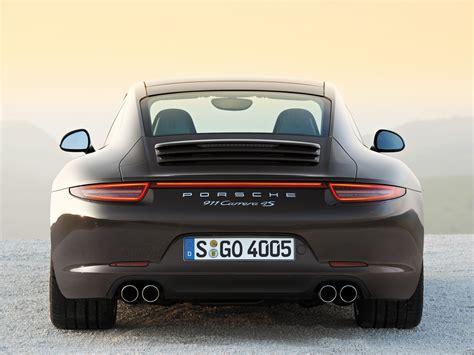 porsche 911 back porsche 911 carrera 4s 991 specs 2012 2013 2014