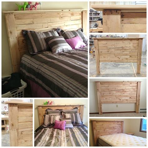 headboards out of pallets my headboard made from old pallet boards all boards are