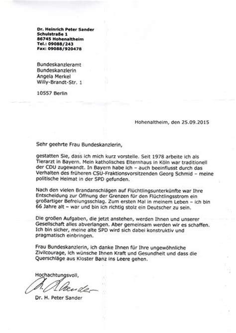 Offizieller Brief Deutschland Brief An Die Bundeskanzlerin Dr Angela Merkel Spd Ortsverein N 246 Rdlingen