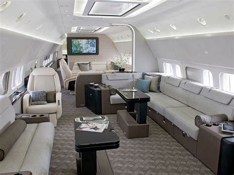 Jet Interiors by The Jumbo Jets Boeing And Airbus Turn Into Posh
