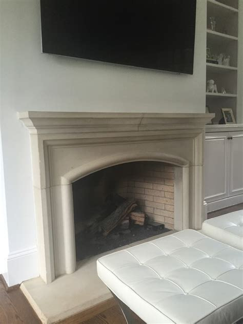 Can U Paint Marble Fireplace by Painting Limestone Fireplace Yes Or No