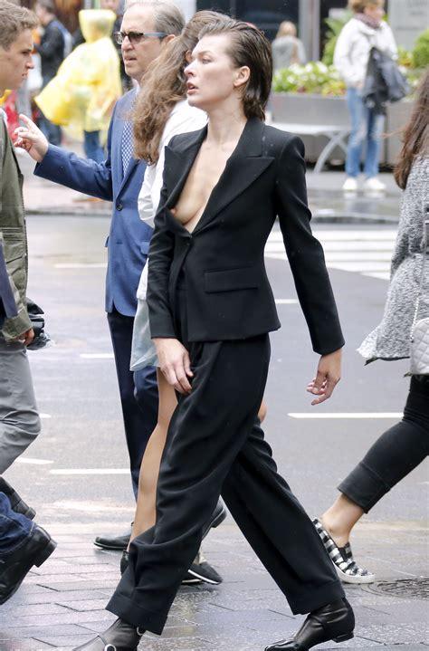 Milla Jovovich Wardrobe by Nipslip Photos Of Milla Jovovich The Fappening News