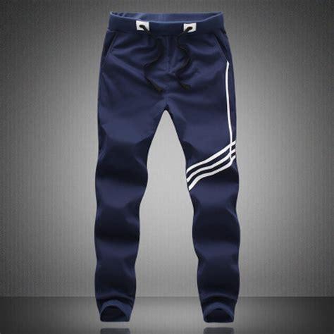 Celana Panjang Kasual Olahraga Santai 4 Pieces 2015 pria celana olahraga mencetak joging celana longgar celana kasual hip hop