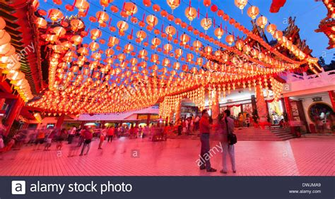 new year in kl thean hou temple in kuala lumpur during new year