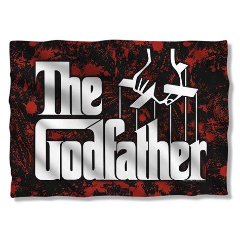 godfather pillow godfather logo pillow
