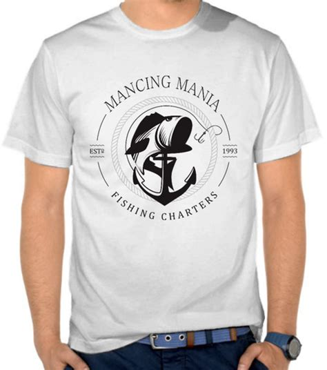 Kaos Fishing Frenzy 19 Mancing Mania jual kaos mancing mania 3 mancing fishing satubaju