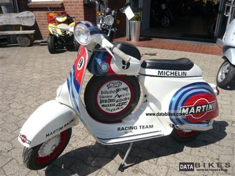 vesper martini racing 1967 vespa ss 50 cc martini racing