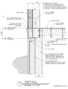 Curtain Wall Types Pdf Superior Foundation Wall And Timber Frame Post Detail