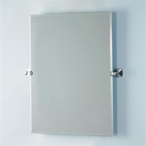 rectangular tilting wall mirror