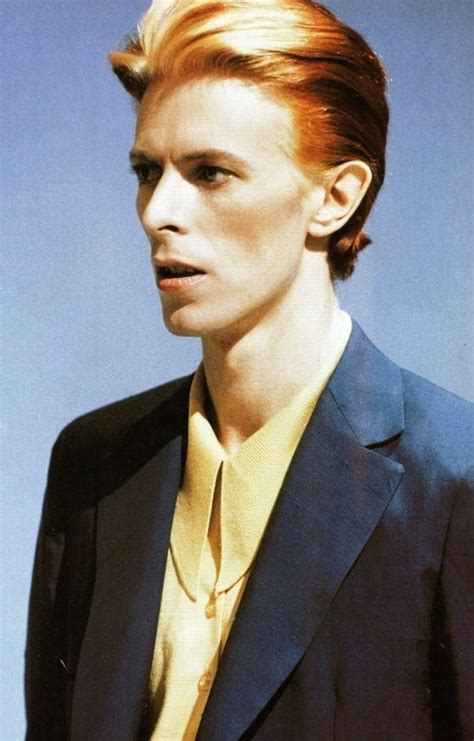 1975 period hair cut lord how does the thin white duke fit with your scheme
