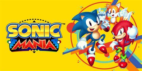 console e mania sonic mania giochi scaricabili per nintendo switch