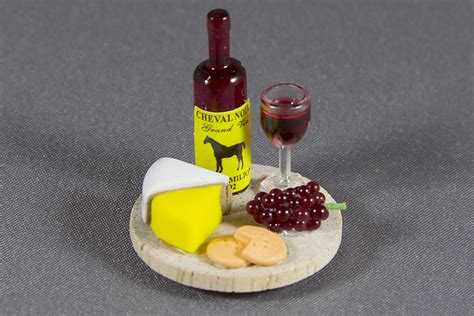 wine  cheese plate dollhouse alley