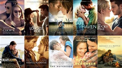 film terbaik nicholas sparks nicholas sparks movies books adaptations youtube