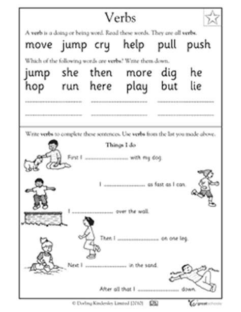 Free Verb Worksheets by Kindergarten Math Worksheets And 3 More Makes