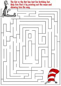 Cat in the hat maze from seussville