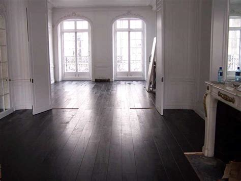 black hardwood flooring choice