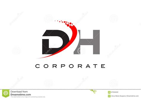 Dh Logo dh illustrations vector stock images 12