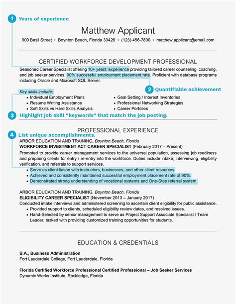 How To Write A Resume For A Registered by Preparing A Resume For A