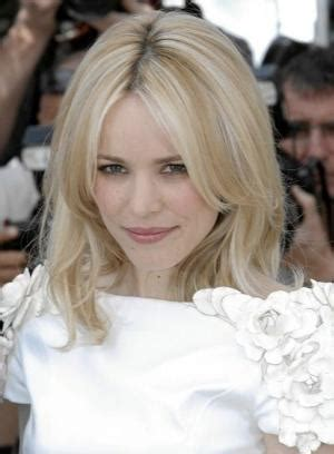 how to make perimeter layers in a straight line rachel mcadams medium hairstyle all over layers create