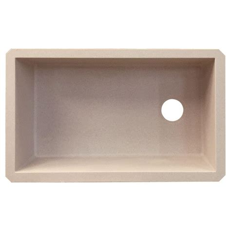 granite undermount kitchen sinks bowl transolid radius undermount granite 32 in single bowl