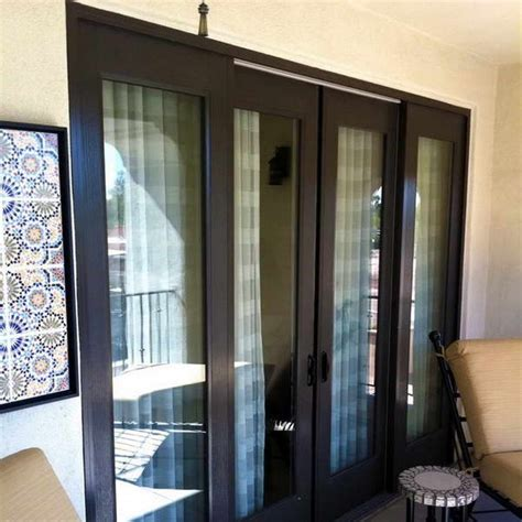 sliding doors with built in blinds shapeyourminds