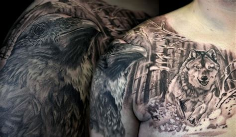 max rothert at off the map tattoo in progress