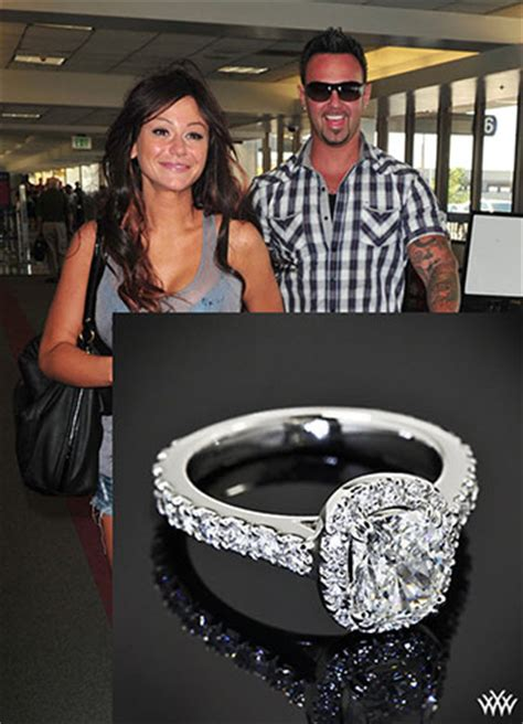 jersey shores jwoww engaged details on engagement ring
