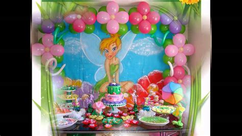 tinkerbell decorations ideas birthday party tinkerbelle beautiful tinkerbell party decorations ideas youtube