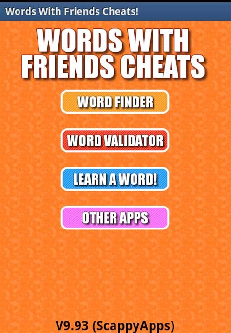 Testing Words with Friends Cheating Apps for Their Value ... Words With Friends Cheat List