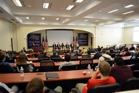 hpu hosts furniture industry networking and panel event