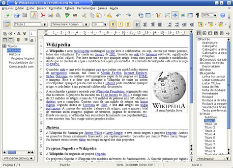 Open Office Update by File Openoffice Org 2 0 Writer Kde Portuguese Png