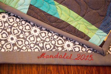 Binding Your Quilt by Quilt Binding With Words Weallsew Bernina Usa S