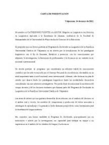 carta de presentacion pdf ejemplo carta de presentaci 211 n