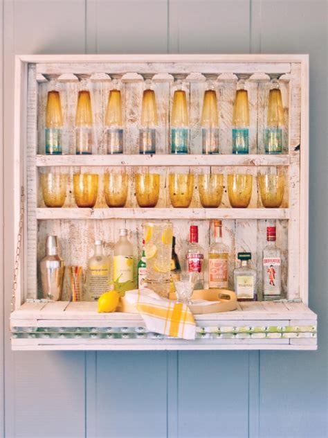 How To Make A Bar Shelf by Build A Hanging Outdoor Bar Hgtv