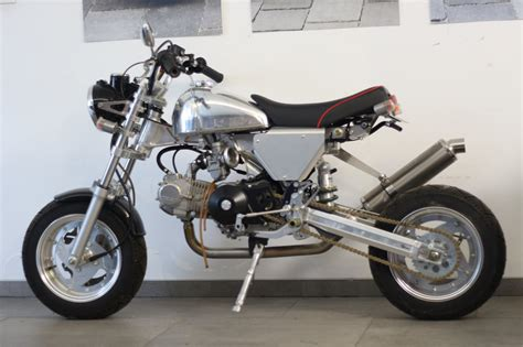 Honda Motorrad Monkey by Umgebautes Motorrad Honda Monkey Von Monkeyking 1000ps De