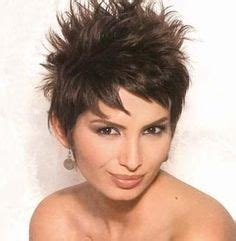 spike layered bob hairstyles short hair on pinterest short haircuts fine