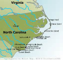 carolina state map map of carolina