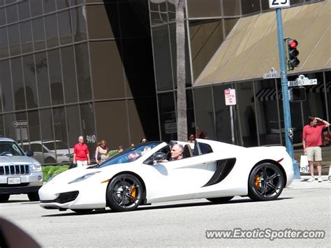 mclaren mp4 12c spotted in beverly california on 05