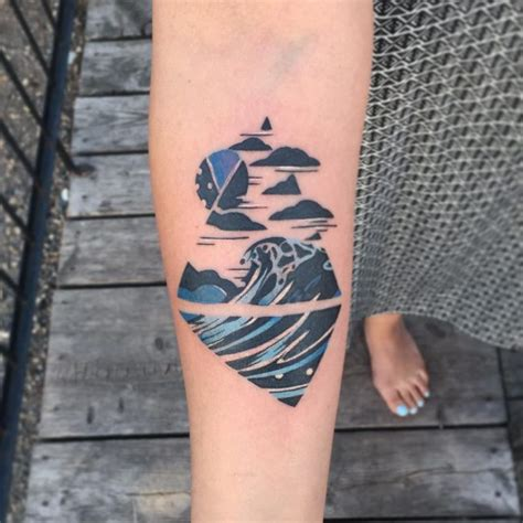 meaning of wave tattoo 90 remarkable wave designs the best depiction of